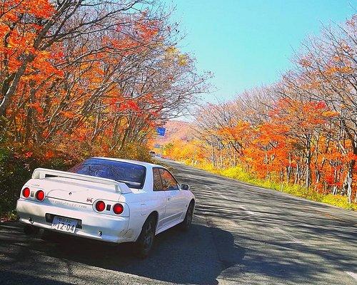 Nissan Skylinr GT-R at the Zao Echoline