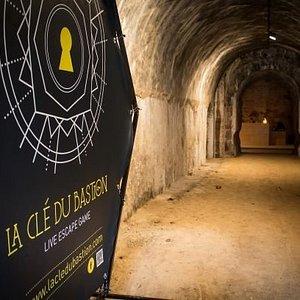 L'entrée de la Clé du Bastion !