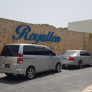 Royalton Hotel transfer to Airport