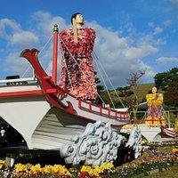 天平菊絵巻 景観一例