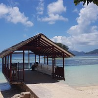 The Old Jetty of La Digue Island