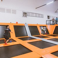 Dodgeball with your family and friends!