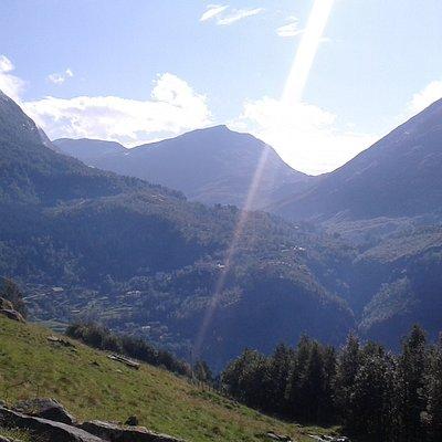 View from Vesteråsfjellet