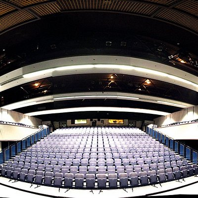 A panoramic view of our 548 seat Auditorium