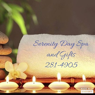 Facial, Massage, Body Wraps and Treatments, Waxing, Manicures, Pedicure, and Hair Services.