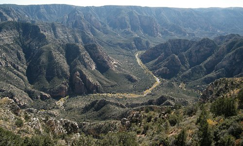 nice canyon view
