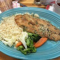 Key lime red snapper
