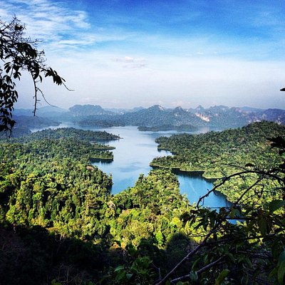 Hike to the top of the Tarzan Viewpoint