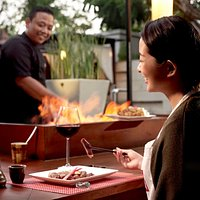 Live Teppanyaki at Rin Restaurant