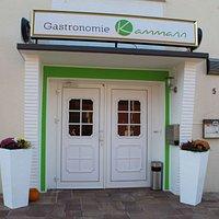 Eingang zum Restaurant und zu unseren Veranstaltungsräumen  (Foto-Quelle: www.con-nect.de/Munaretto)
