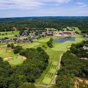 Tom Weiskopf design golf course at Old Kindehrook Resort