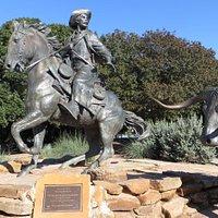 Branding the Brazos Sculpture, Waco, TX