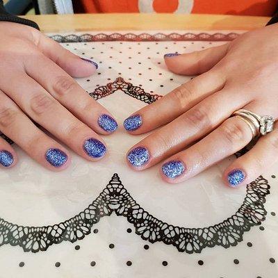 shellac nails £12