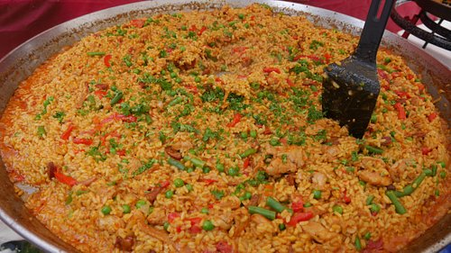 This was the best Paella we have had.