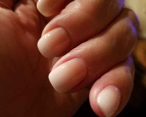 """I asked for this look that I saw, called a """"fade"""". It was exactly what I showed my nail tech, Kaylie."""