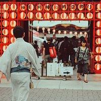 Bon odori in Kanda Myojin Shrine
