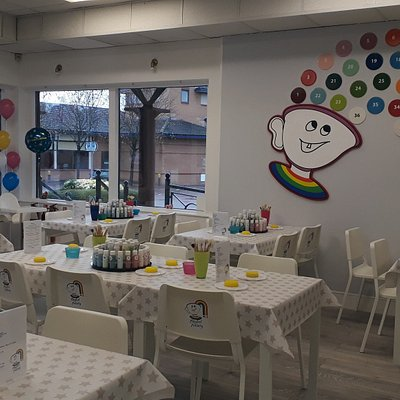 The new pottery painting Studio In Shenley Church End