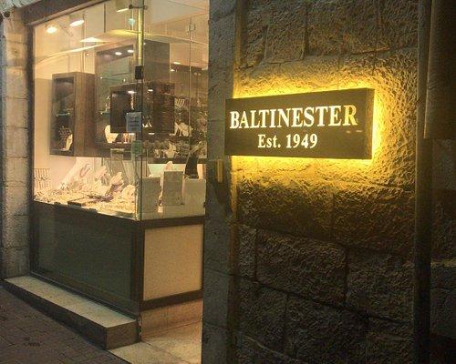 Baltinester Jewelry shop by night..