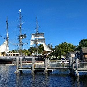 Mystic Seaport, delightful.