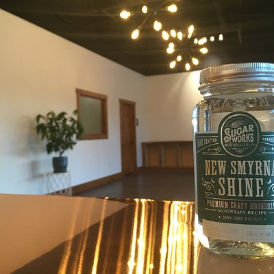 New Smyrna Shine - Traditional corn whiskey