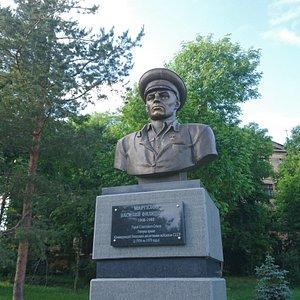 Памятник В.Ф. Маргелову