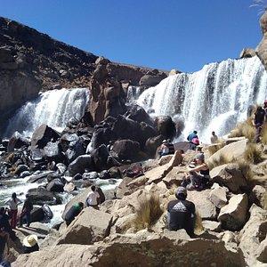 Catarata de Pillones Arequipa Perú