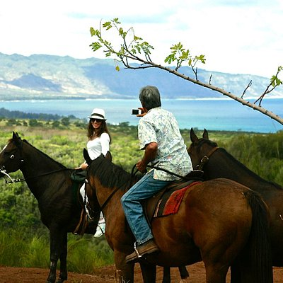 Picture perfect memories of your horseback ride through paradise.
