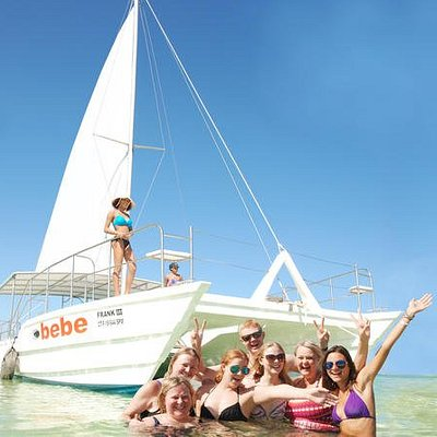 From Punta Cana: Party Boat Cruise with Snorkeling