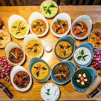 Selection of our authentic food