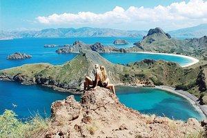 Scenic landscape of Komodo National Park, East Nusa Tenggara