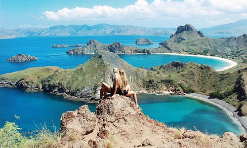 Scenic landscape of Komodo National Park, East Nusa Tenggara