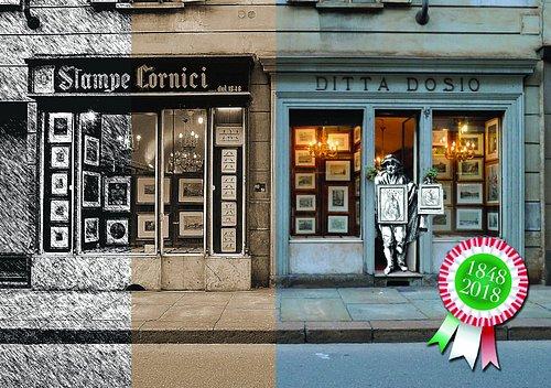 """Entrare da Dosio, in via XX Settembre 43, significa fare una visita in un vero museo. Bisogna davvero concedersi una """"visita privata"""" in questo negozio della Torino più intima, più vera, che quest'anno compie 170 anni"""