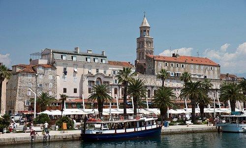 Palazzo di Diocleziano e città di Split