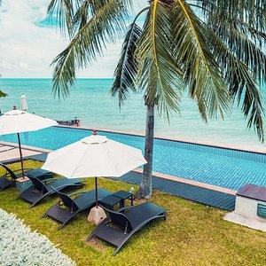 25m resort pool at Lotus Samui