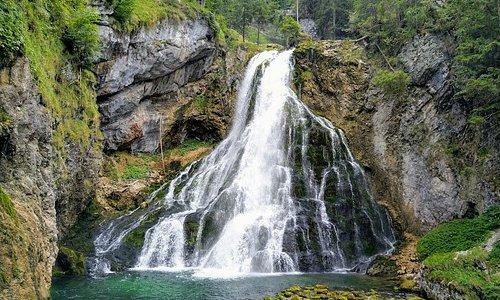 Gollinger Wasserfall juli 2018