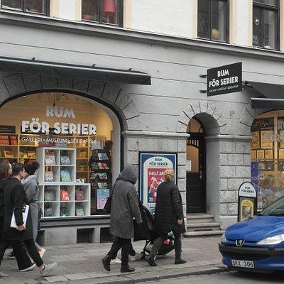 Rum för serier i Malmö
