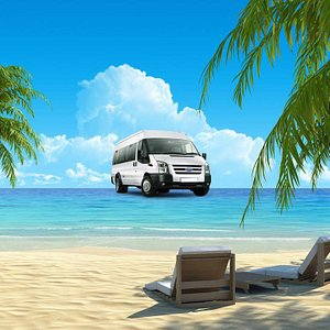 Servizio in spiaggia