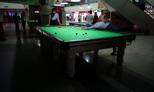 Snooker Parlour at Homeland City Mall, Baddi, Himachal Pradesh