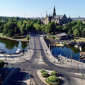Kungliga Djurgården, Östermalm, Stockholm - En av världens vackraste stadsparker. Kungliga Djurgården en del av Östermalm.