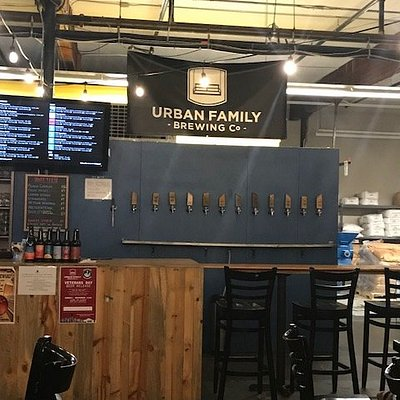 Inside of Urban Family Brewing