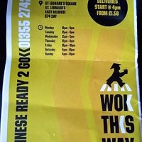 Wok This Way East Kilbride Menu