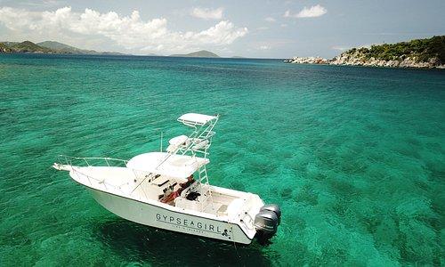 Beautiful Virgin Islands water