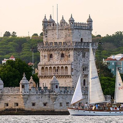 Passing by Belem tower