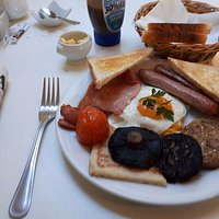 Orange juice, coffee refills and perfectly cooked Full Irish. Relax and Enjoy!