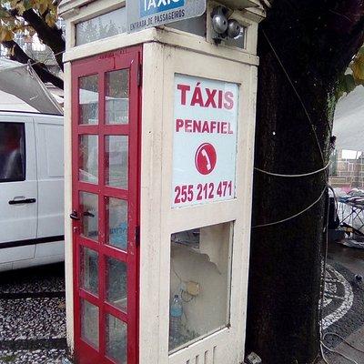 Local exato da Táxi Penafiel.