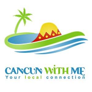 CancunWithMe Logo