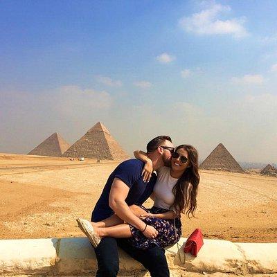 Couples at Pyramids