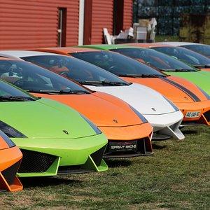 Sprint Racing: Le parce  de Lamborghini LP560