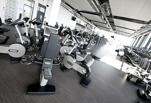 Ashington Gym using latest TechnoGym equipment