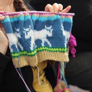 Crochet Group on Mondays in VC Gallery in Pembroke Dock